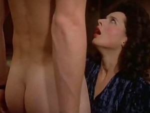 Sensual Movie Star Isabella Rossellini Strips To Her Panties